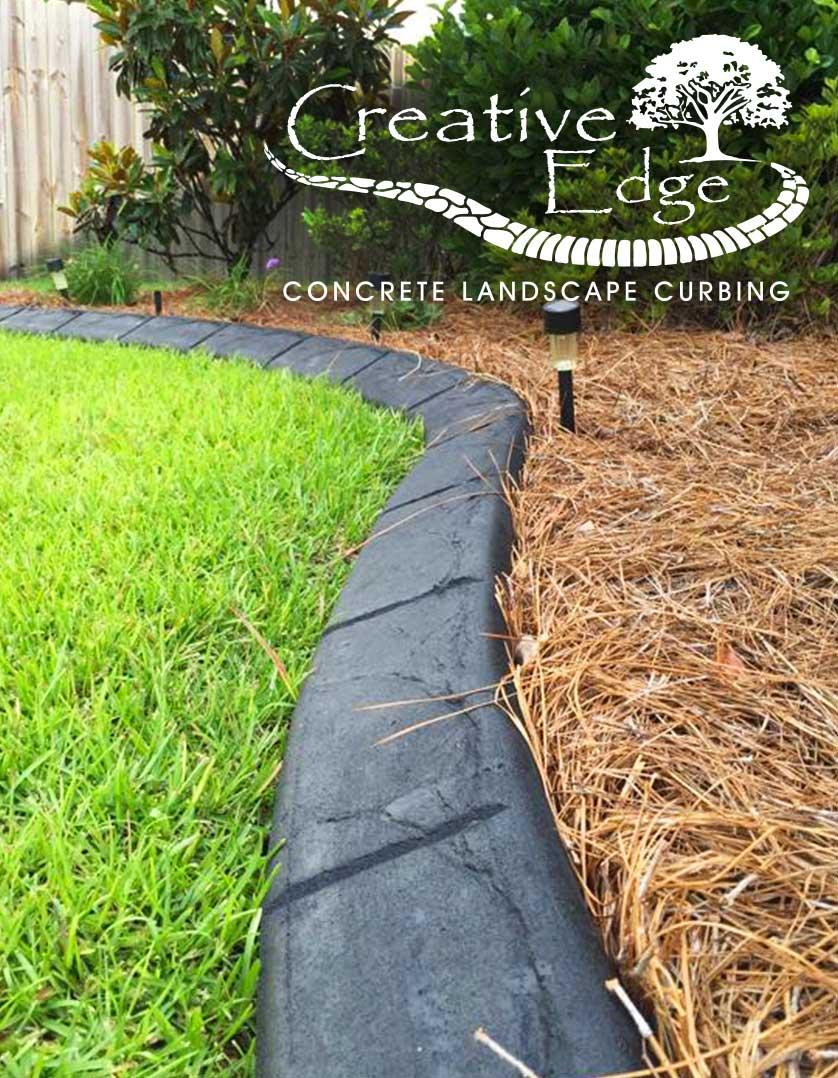 Residential Concrete Landscape Curbing